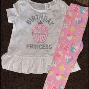 4T toddler birthday outfit.
